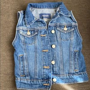 Old Navy Kids Denim Vest